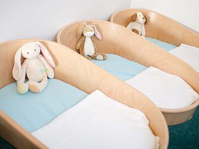 sleeping at fairstead house nursery